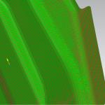 drappeggio su componente termoplastico